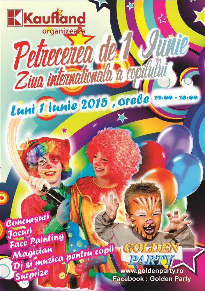 Petreceri 1Iunie Cluj Napoca - Ziua Copilului Cluj