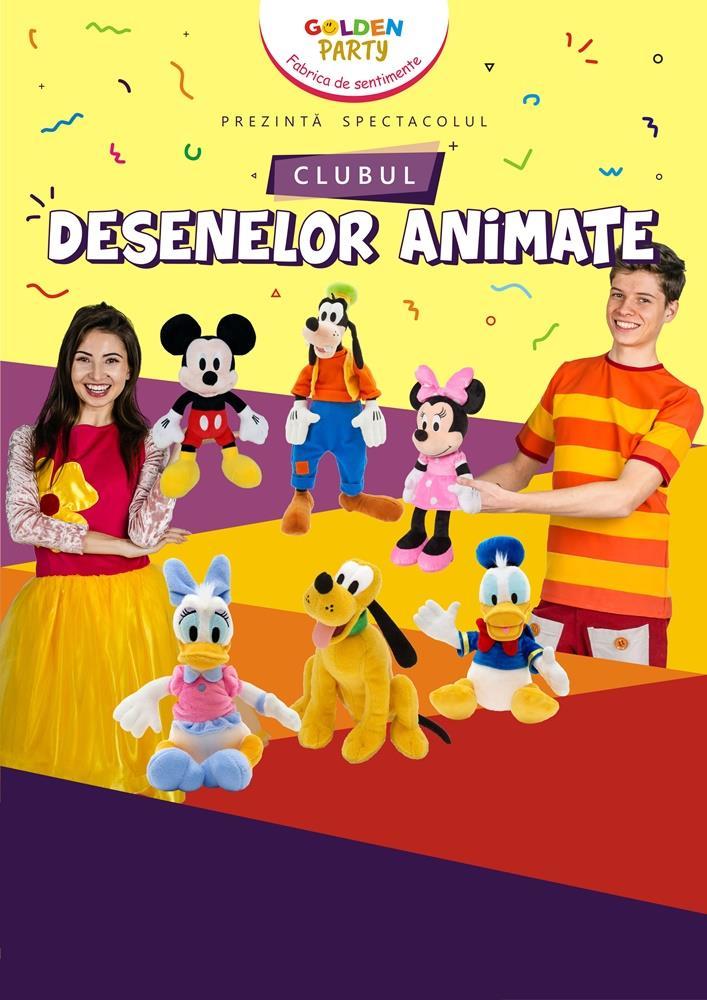 Spectacol pentru copii Clubul Desenelor Animate