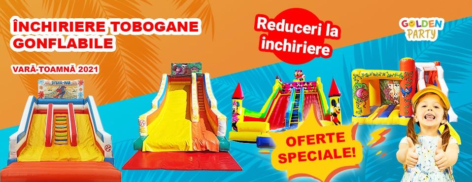 Tobogane gonflabile de inchiriat Cluj Napoca - Tobogane pentru copii - Saltele de joaca copii