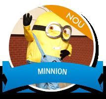 Mascota Minnion Petreceri Cluj