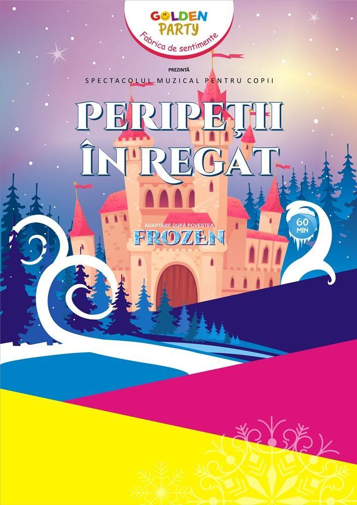 Spectacol pentru copii Perpetii in regat