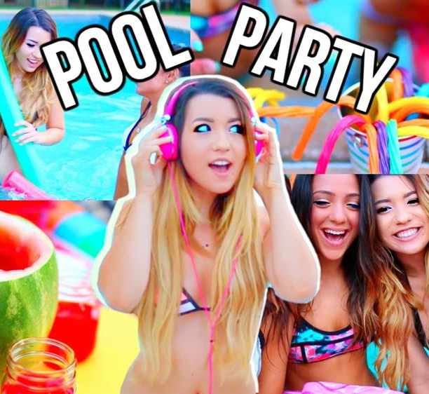 Pool Party adolescenti