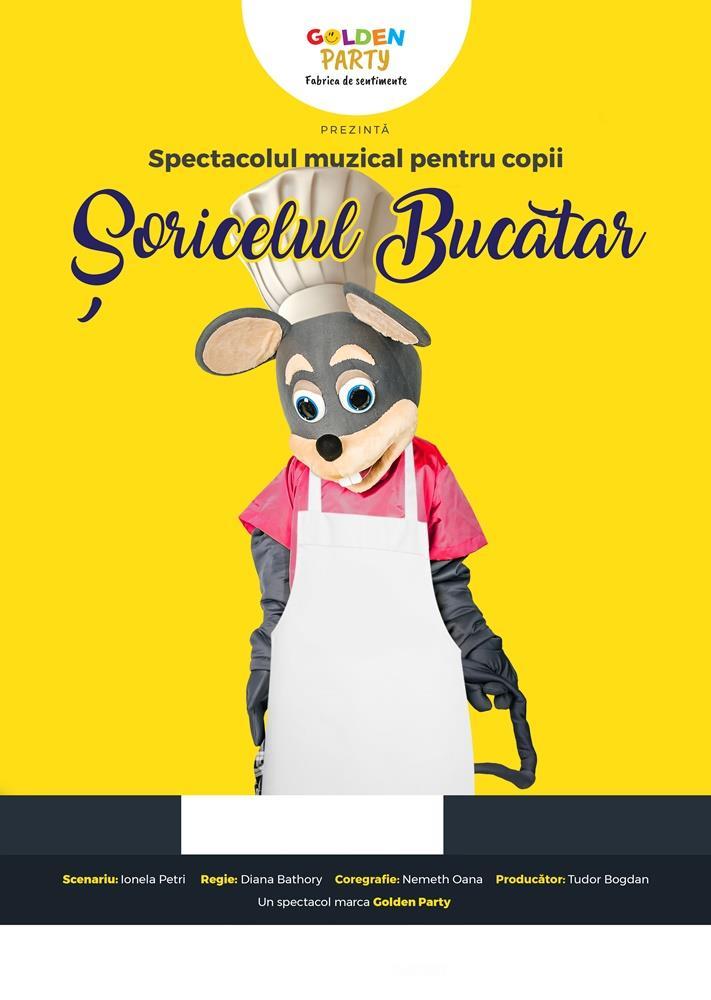 Spectacol pentru copii Soricelul Bucatar