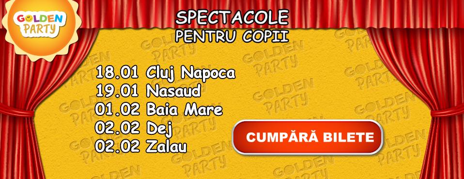 Program spectacole pentru copii