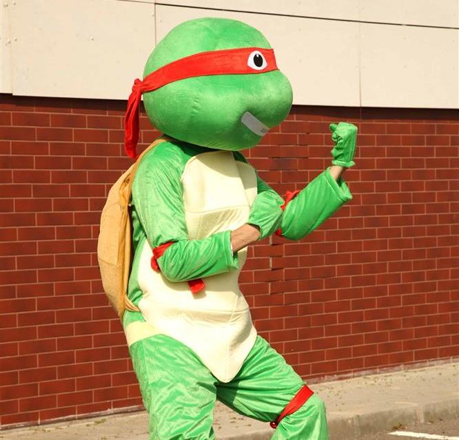 Mascota Testoasa Ninja