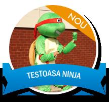 Party Kids Cluj Napoca - Mascota Testoasa Ninja Cluj