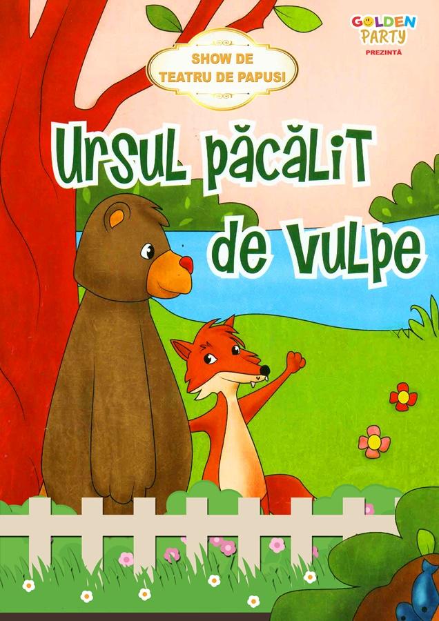 Teatru de papusi - Ursul pacalit de vulpe